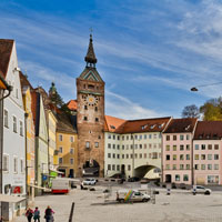 Hauptplatz in Landsberg - © day & light