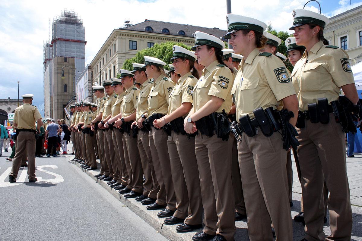 Ausbildung Bayerische Polizei
